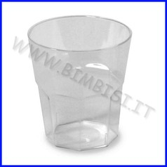 Bicchierino 40 ml. conf.1000 pz. trasparente