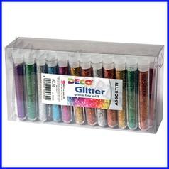 Glitter grana fine 50 flaconi ml.8 c.ass