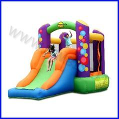 Castello gonfiabile happyhop balloon dim.cm 350x210x200