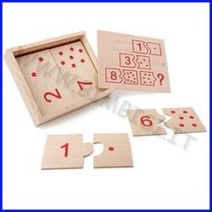Domino dei numeri cm.22x18