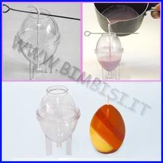 Stampo per candele uovo h cm.6,5