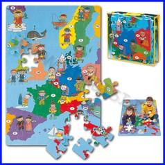 Puzzle eva europe map fino ad esaurimento