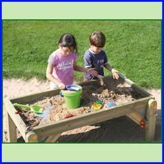 Vaschetta sabbia/acqua in legno