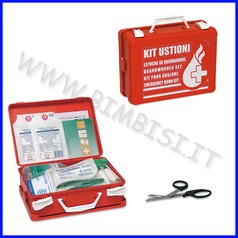 Kit pronto soccorso ustioni