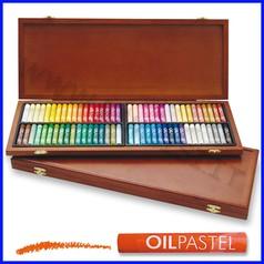 Pastelli a olio x artisti valigetta 72 pezzi colori assortiti