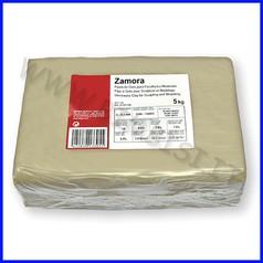 Pasta per modellare zamora kg.5 - bianco