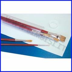 Portapennelli plastica tubo cm. 35