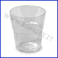 Bicchierino 40 ml conf 50 pz trasparente