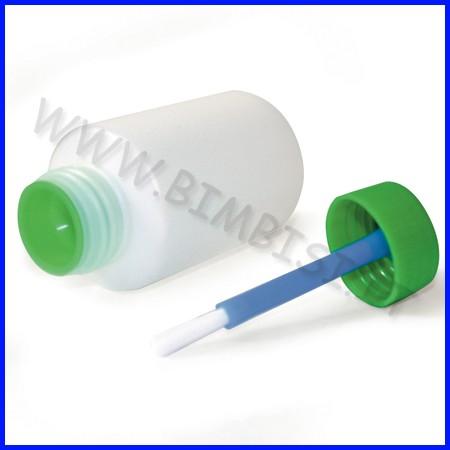 Flacone antirovescio ml.100 con pennello - set 15 pz.