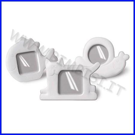 Cornici in ceramica - set 6 pz. - animali assortiti fino ad esaurimento