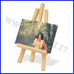 Supporti in legno: cavalletto pittura mini h cm 23