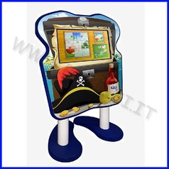 Kiki wall 22'' videogioco multimediale