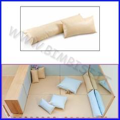 Cuscino rettangolare piccolo 65x30x15