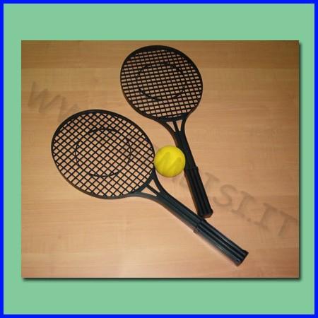 Tennis set 2 racchette e 1 palla soft fino ad esaurimento