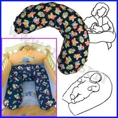 Cuscino allattamento junior imbottitura+fodera cm 100