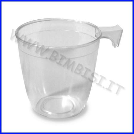 Tazzina caffe' conf.1000 pz. trasparente fino ad esaurimento