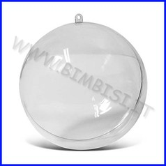 Sfera kristall 3d diametro cm. 6