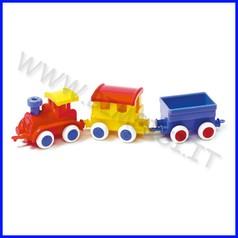 Go-go trenino 1 locomotore + 2 vagoni fino ad esaurimento