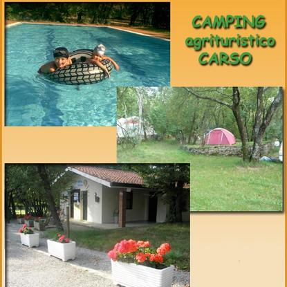 Immagine locale CAMPEGGIO AGRITURISTICO CARSO