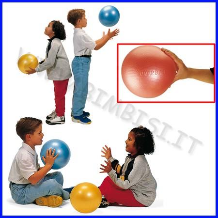 Palla prima infanzia over ball rossa diam. 25 cm fino ad esaurimento