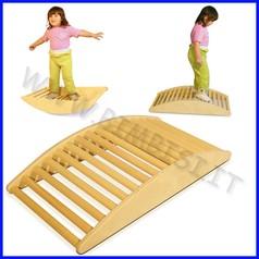 Attrezzi ginnici legno bilico ponte a pioli