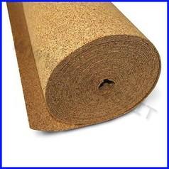 Sughero spessore mm. 2 - rotolo mt. 10x50 cm.