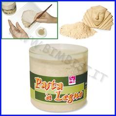 Pasta di legno barattolo ml.700