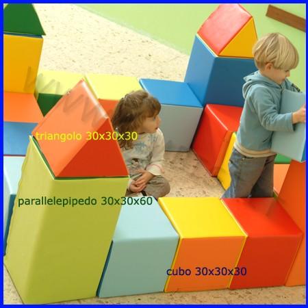 Morbidone triangolo 30x30x60
