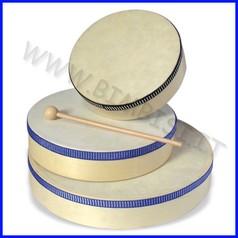 Strumenti musicali tamburello 21 cm con battente