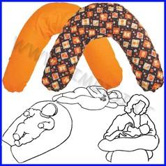 Cuscino allattamento dolce abbraccio sfoderabile (imbottitura+fodera) cm 180