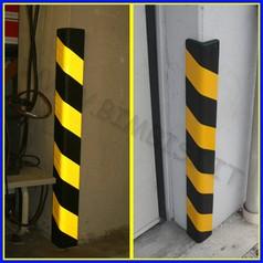 Angolare di sicurezza catarinfrangente in tpe barra 100 cm
