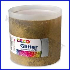 Glitter grana fine barattolo gr 700 oro