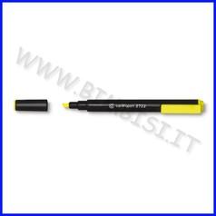 Evidenziatore punta scalpello giallo fino ad esaurimento