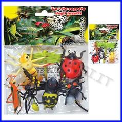 Animali insetti - busta 7 pz.