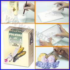 Polvere ceramica bianca kg 1