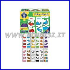 Puzzle Abbina i colori cm 7x27