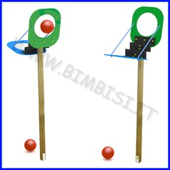 Gioco basket magic ball