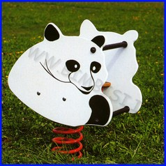 Gioco a molla bi panda