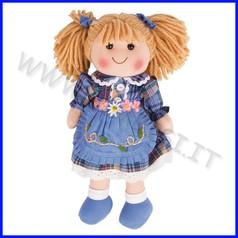 Bambola cm 30 katie con vestitino