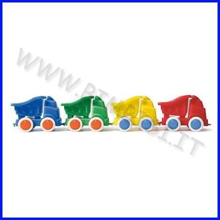 Go-go camion con ribalta set 4 pz. - col. ass.