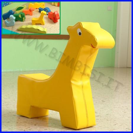 Morbidone giraffa 73x73x20 cm