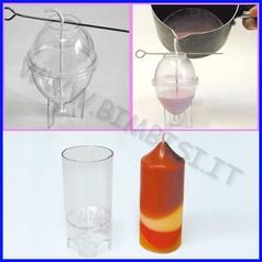 Stampo candele cilindro piccolo c/punta