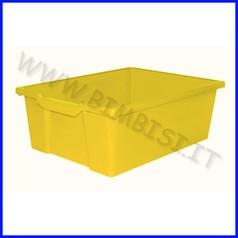 Contenitore alto cm 43x31.5x15 - giallo