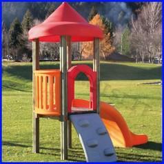 Aladin n.1 torre rampa/scivolo h 84
