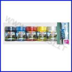 Colori acrilici deco acril 5 flaconi ml. 35 colori primari