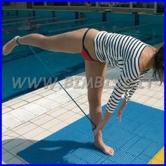 Pavimentazione modulare aqua floor azzurro acqua 9 pz=1 mq
