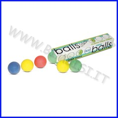 Palline ping-pong scatola 6 pezzi col.as