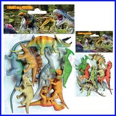 Animali dinosauri - busta 8 pz.
