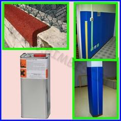 Collante per protezioni murali 4.5kg piesse cp/700 resa 1kg/2mq