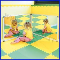 Specchio plex c/cornice 65x100 cm